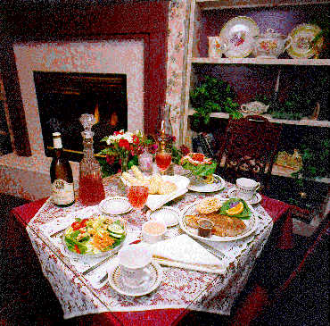 The Globe Inn Period - Victorian dining room